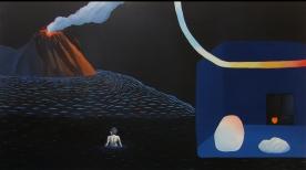 Acrílico/óleo sobre lienzo. 70 x 89 cm. 2016.