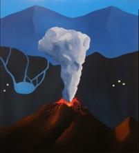 Acrílico/óleo sobre lienzo. 61 x 55 cm. 2016.